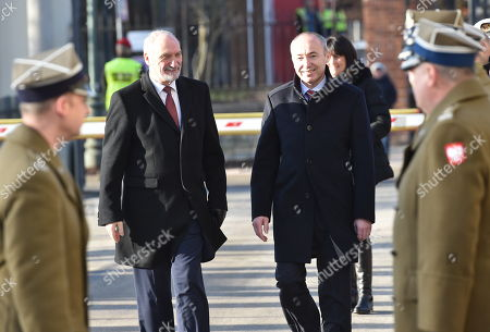 Antoni Macierewicz and Damir Krsticzeviae