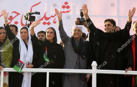 Editorial picture of 10th anniversary of Benazir Bhutto assassination, Gari Khuda Buksh, Pakistan - 27 Dec 2017