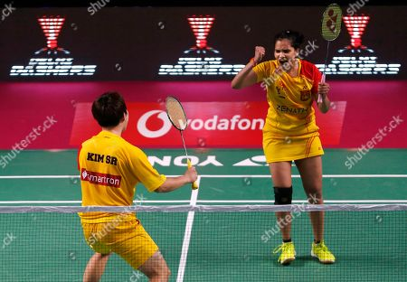 Editorial image of Premier Badminton League, New Delhi, India - 28 Dec 2017