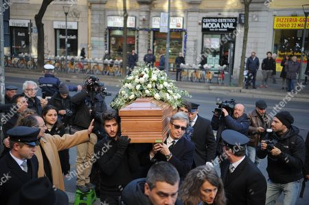 The funeral of Gualtiero Marchesi