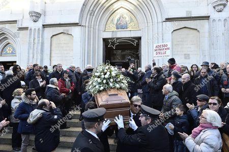 Editorial photo of Gualtiero Marchesi funeral in Milan, Italy - 29 Dec 2017