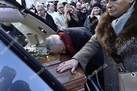 Editorial image of Gualtiero Marchesi funeral in Milan, Italy - 29 Dec 2017