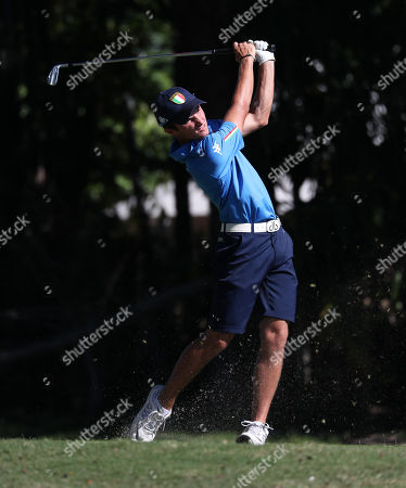 Andrea Romano (Italy) plays a shot at the 54th Junior Orange Bowl International Golf Championship at The Biltmore in Coral Gables, Florida