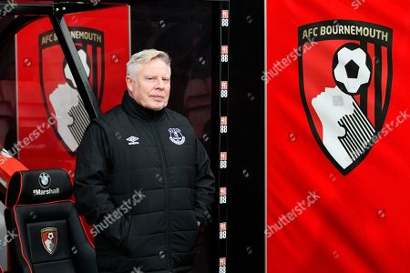 Everton coach Sammy Lee before the Premier League match between Bournemouth and Everton at the Vitality Stadium, Bournemouth