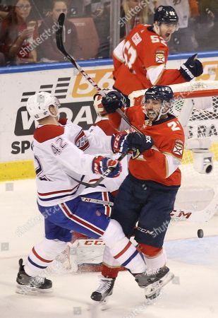 Editorial image of Canadiens Panthers Hockey, Sunrise, USA - 30 Dec 2017