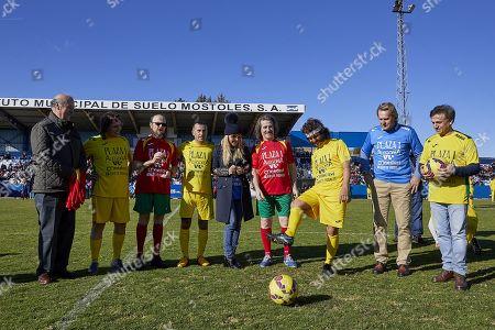 Vicente del Bosque, Vicente Amigo, Santiago Segura, Richy Castellanos, Cayetana Guillen Cuervo, Luis Cobos, Bernd Schuster, Jose Mota