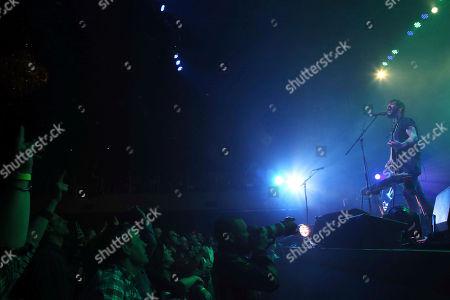 Ben Bridwell, Ryan Monroe, Creighton Barrett, Matt Gentling. Ben Bridwell, Ryan Monroe, Creighton Barrett and Matt Gentling with Band of Horses performs at the Coca-Cola Roxy Theatre, in Atlanta