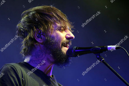 Ben Bridwell with Band of Horses performs at the Coca-Cola Roxy Theatre, in Atlanta