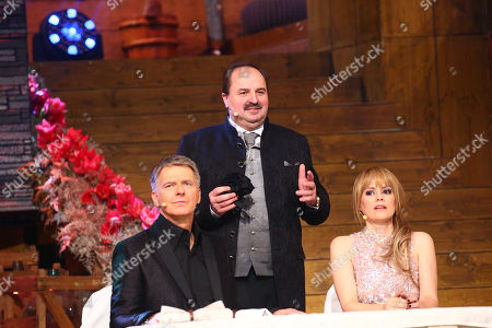 Editorial photo of Rehearsal of the TV Show Silvestershow, Graz, Swiss - 30 Dec 2017