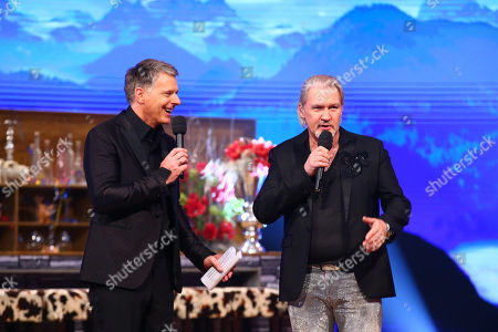 Joerg Pilawa and Johnny Logan