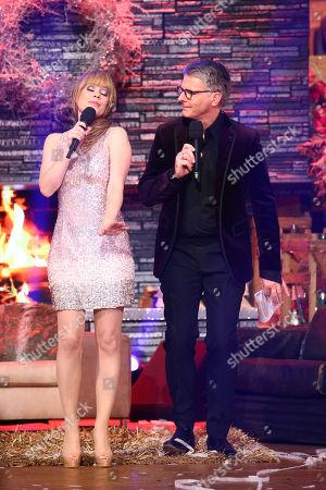 Francine Jordi and Joerg Pilawa