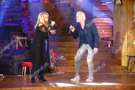 Bonnie Tyler and Johnny Logan
