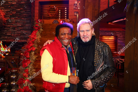 Roberto Blanco and Johnny Logan