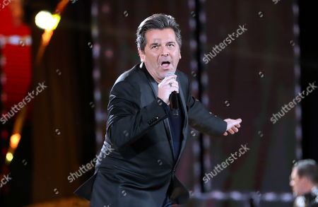 Former lead singer of Germany's popular pop-duo Modern Talking - Thomas Anders performs on stage during New Year's Eve concert in Zakopane, Poland, 31 December 2017, (issued 01 January 2018).