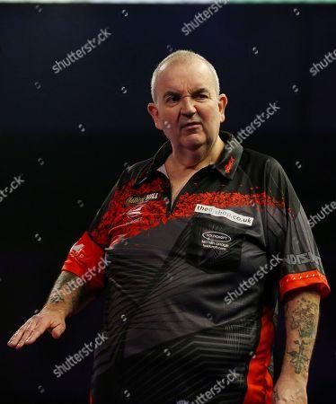 Editorial photo of PDC World Darts Championship Final, London - 01 Jan 2018