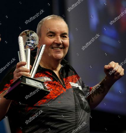 Editorial picture of PDC World Darts Championship Final, London - 01 Jan 2018
