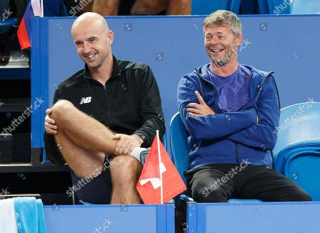 Ivan Ljubic and Ian Hughes