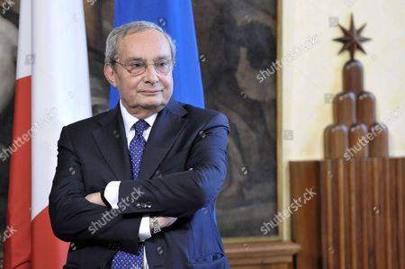CEO of Fincantieri, Giuseppe Bono, Rome, Italy