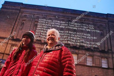 Val McDermid and Maisie Dalton