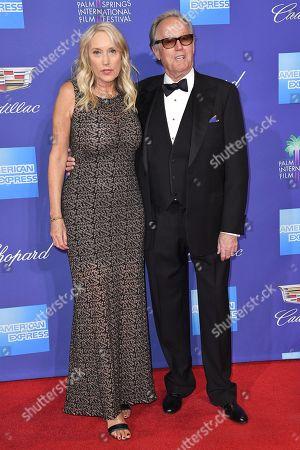 Margaret DeVogelaere and Peter Fonda