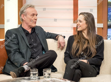 Anthony Head and Daisy Head