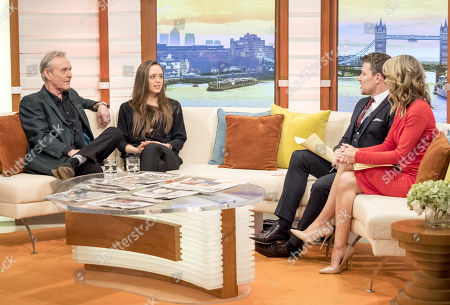 Anthony Head and Daisy Head, Charlotte Hawkins, Ben Shephard