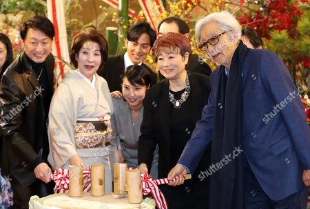 Editorial image of 'Kazoku wa tsurai yo' play photocall, Tokoy, Japan - 02 Jan 2018