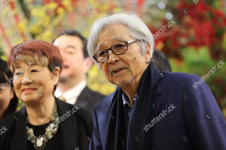 Editorial picture of 'Kazoku wa tsurai yo' play photocall, Tokoy, Japan - 02 Jan 2018