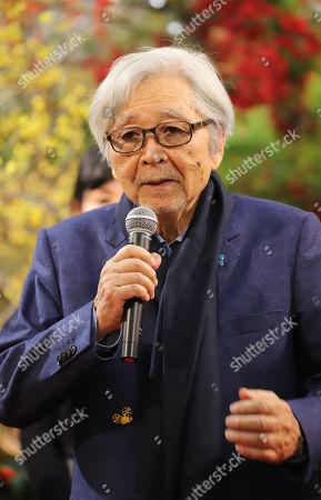 Stock Image of Japanese film director Yoji Yamada