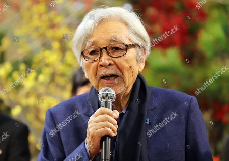 Japanese film director Yoji Yamada