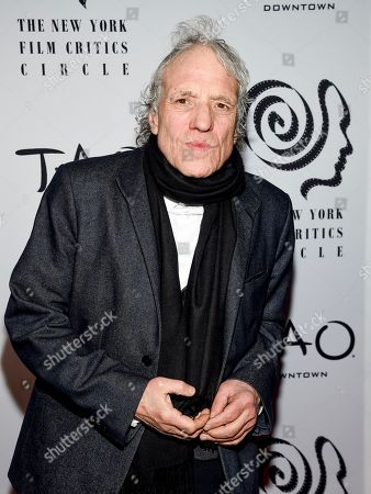 Director Abel Ferrara attends the New York Film Critics Circle Awards at TAO Downtown, in New York