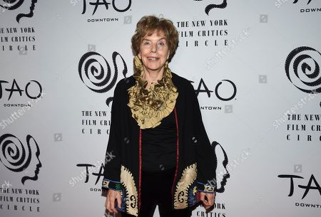 Career achievement honoree Molly Haskell attends the New York Film Critics Circle Awards at TAO Downtown, in New York