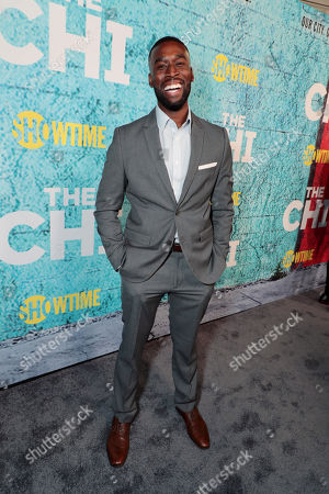 Editorial image of The Premiere of 'The Chi' TV Show, Los Angeles, CA, USA - 03 Jan 2017