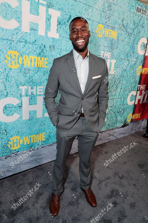 Editorial photo of The Premiere of 'The Chi' TV Show, Los Angeles, CA, USA - 03 Jan 2017