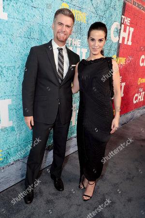 Armando Riesco and Shirley Rumierk