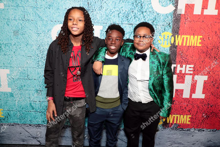 Michael Epps, Alex R. Hibbert and Shamon Brown Jr.