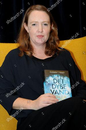 Editorial image of Paula Hawkins book promotion, Copenhagen, Denmark - 12 Nov 2017