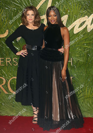 Stephanie Seymour and Naomi Campbell