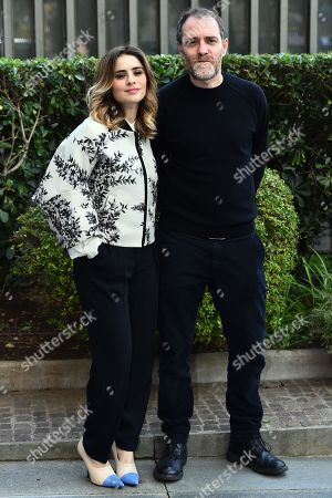 Greta Scarano and Valerio Mastrandrea