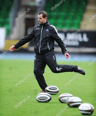 Chris Paterson - Glasgow Warriors kicking coach.