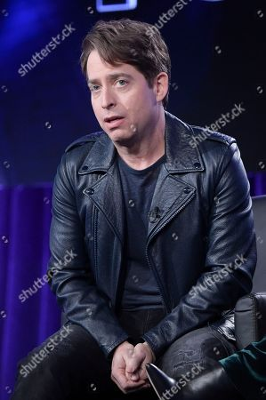 """Charlie Walk participates in """"The Four"""" panel during the FOX Television Critics Association Winter Press Tour, in Pasadena, Calif"""