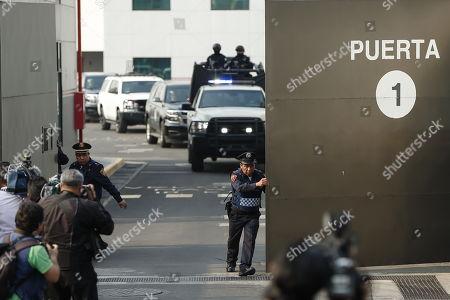 Roberto Borge facing corruption charges Panama City Stock Photos