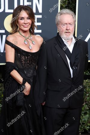 Editorial image of 75th Annual Golden Globe Awards, Arrivals, Los Angeles, USA - 07 Jan 2018