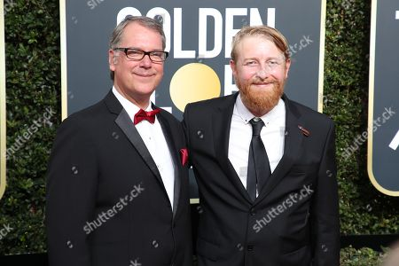 Editorial picture of 75th Annual Golden Globe Awards, Arrivals, Los Angeles, USA - 07 Jan 2018