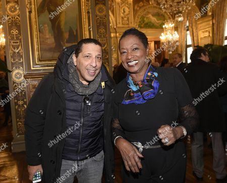 Babette de Rozieres and Smain