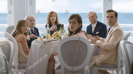 Stock Photo of Fantine Harduin, Jean-Louis Trintignant, Isabelle Huppert, Laura Verlinden, Toby Jones, Mathieu Kassovitz