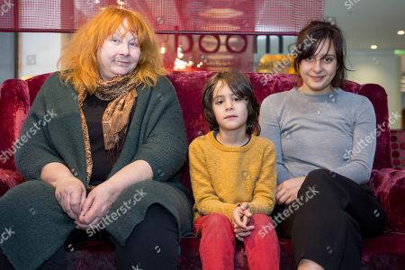 Stock Picture of Yolande Moreau, Ishaq El Akel, Anna Franziska Jaeger