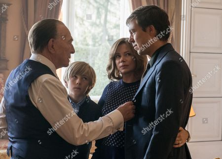 Christopher Plummer, Charlie Shotwell, Michelle Williams, Andrew Buchan