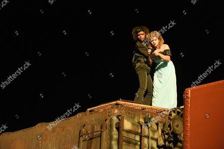 "Editorial picture of ""Deidra & Laney Rob a Train"" Film - 2017"