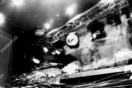 Danny Rampling spinning some vinyl at Ocean